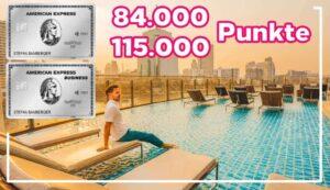 American Express Platinum - 84.000 Punkte als Willkommensbonus