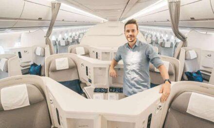 Was für eine Crew! Finnair A350 Business Class