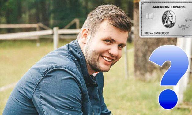 Amex Platinum Kreditkarte – Meine persönliche Meinung