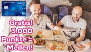 Aktion! 3.000 Willkommenspunkte bei der American Express Payback
