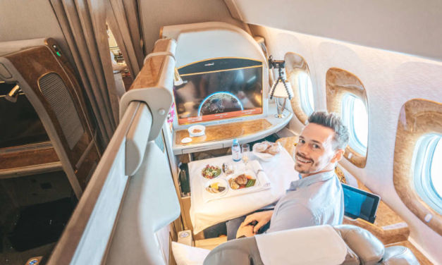 Emirates First Class in Zeiten von Corona