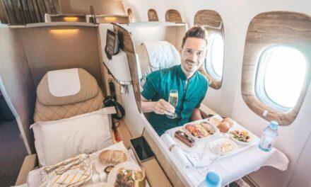 Die neue Emirates Business Class in Corona-Zeiten