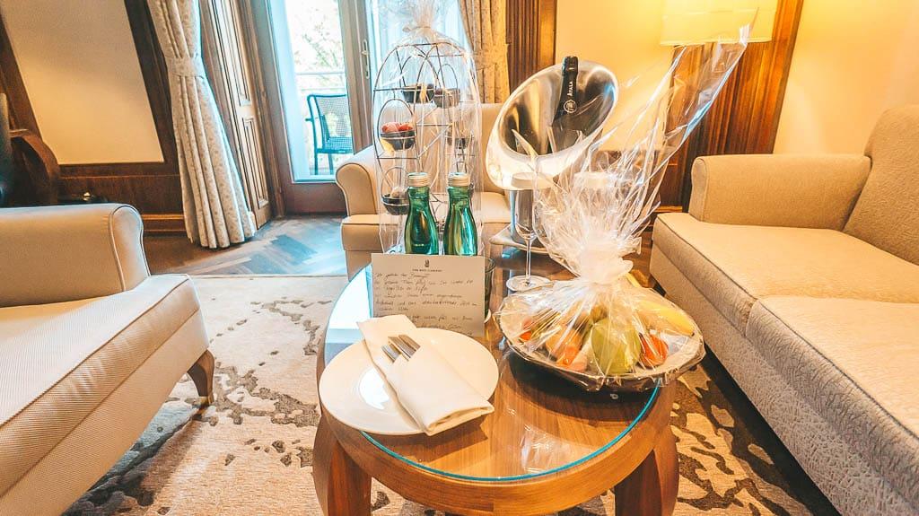 The Ritz-Carlton Wien Willkommensgeschenk