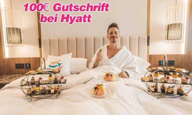 Amex Offer – 100 Euro Gutschrift bei Hyatt!