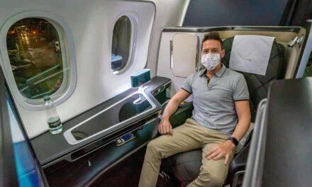 British Airways First Class mit extremen Corona Einschränkungen