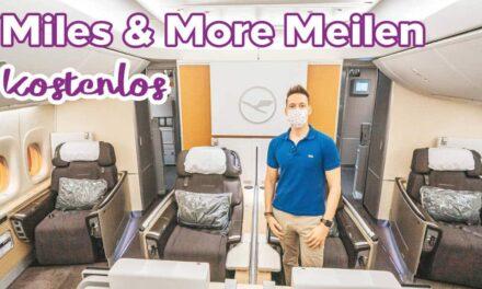 Miles & More Meilen kostenlos sammeln