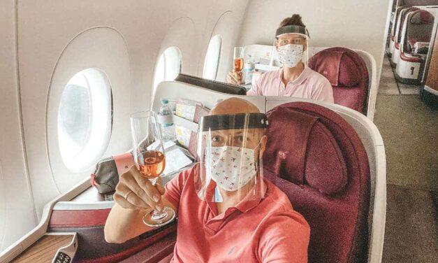 Qatar Airways Business Class – Boarding speziell, dann fast wie immer!