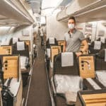 SWISS Business Class mit Corona Einschränkungen