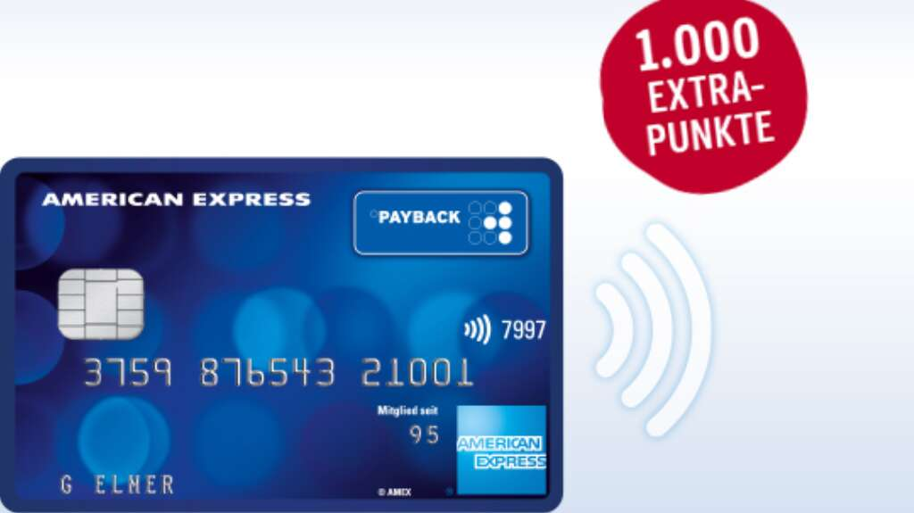 Payback American Express 1000 Punkte kostenlos