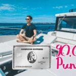 90.000 Bonuspunkte bei der American Express Platinum Kreditkarte