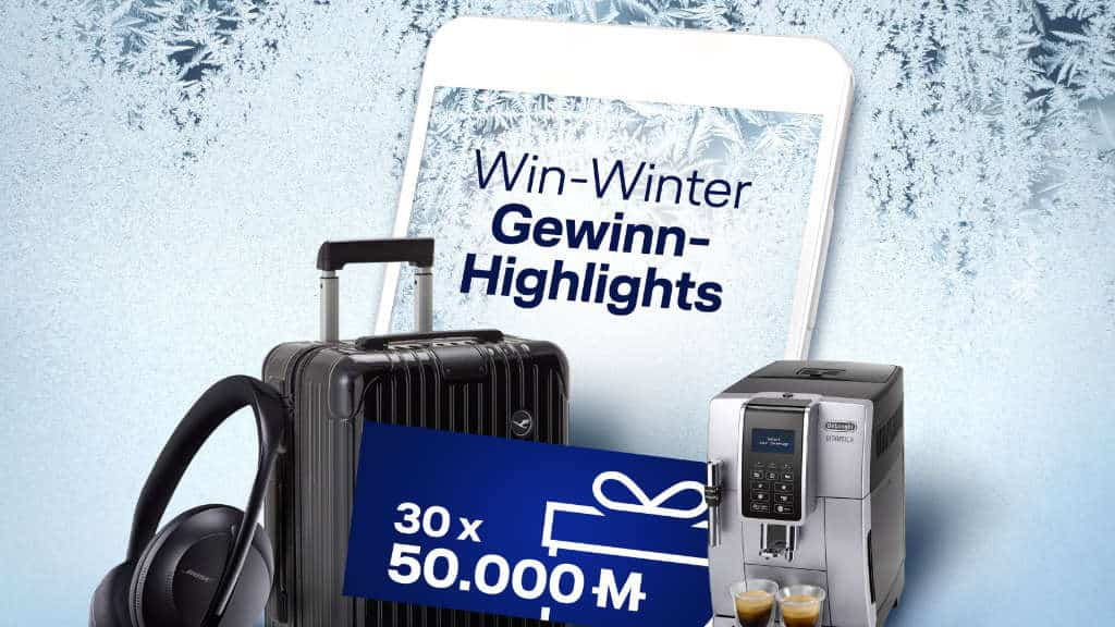Miles & More Win Winter – Spannendes Gewinnspiel