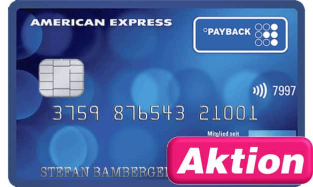 3.000 Punkte Payback American Express