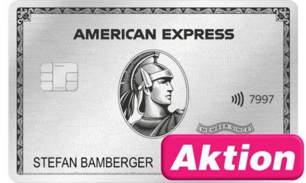 84.000 Punkte American Express Platinum