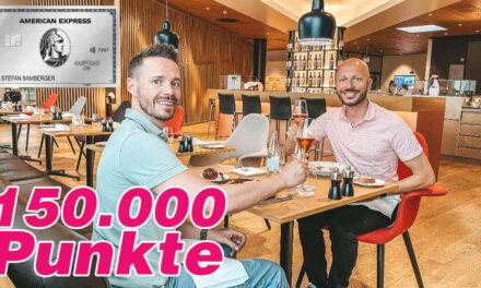150.000 Punkte! American Express Platinum Business