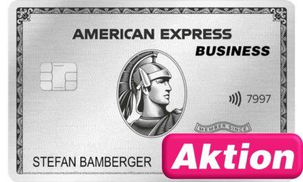 150.000 Punkte American Express Platinum Business