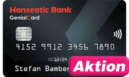 30€ Startguthaben Genialcard