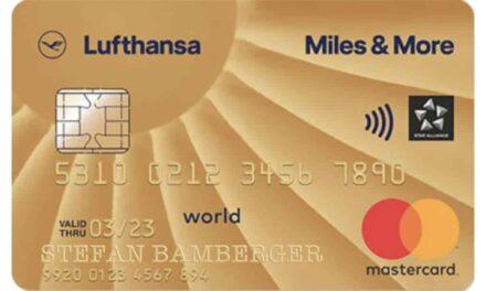 4.000 Meilen Miles & More Gold