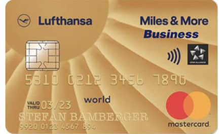 4.000 Meilen Miles & More Gold Business