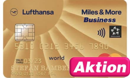 30.000 Meilen Miles & More Gold Business