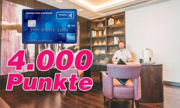 Mit Payback Amex dauerhaft 3-fach Payback-Punkte sammeln