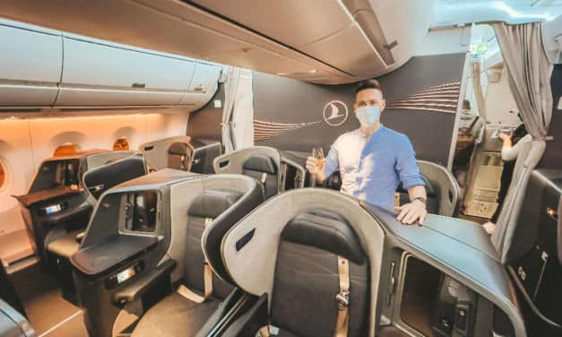 Turkish Airlines A350 Business Class São Paulo – Istanbul