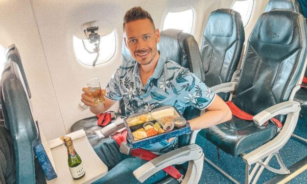 KLM Cityhopper Business Class nach Amsterdam