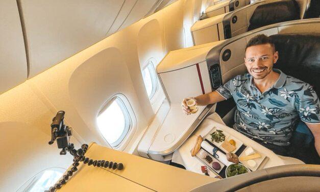 Air France 777-300ER Business Class nach Mexiko