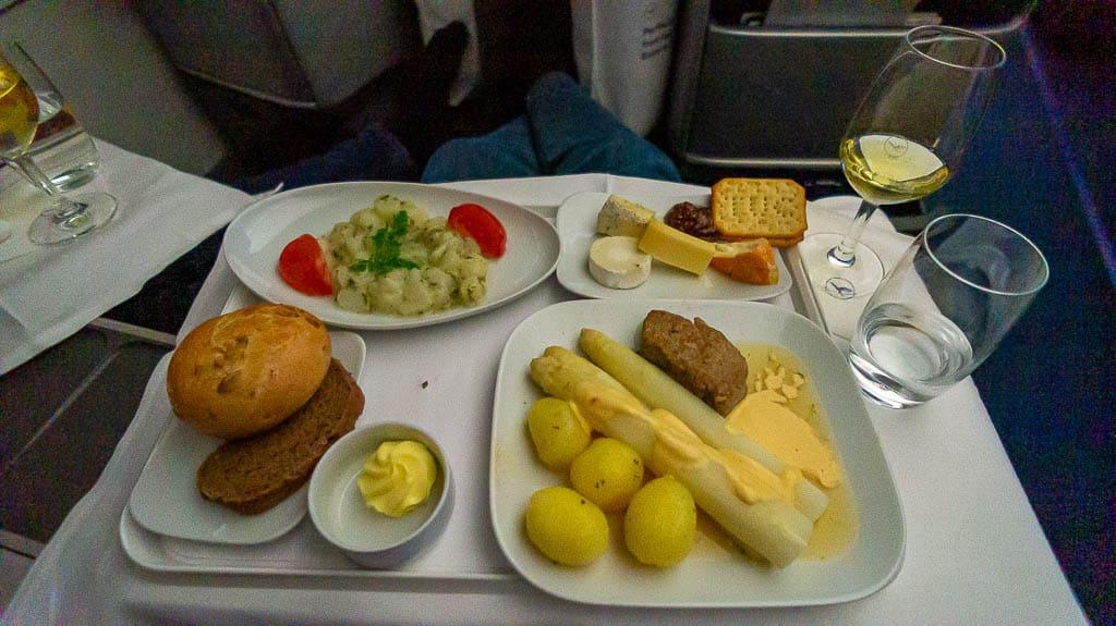 Lufthansa Business Class Essen