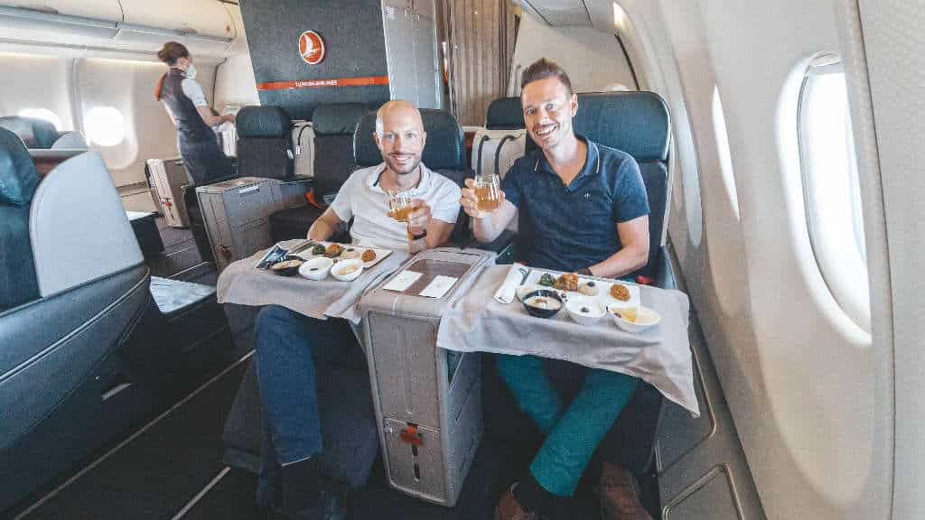 Turkish Airlines A330 Business Class von Hannover nach Istanbul
