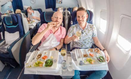 Mit der Condor Business Class 767-300 in den Urlaub