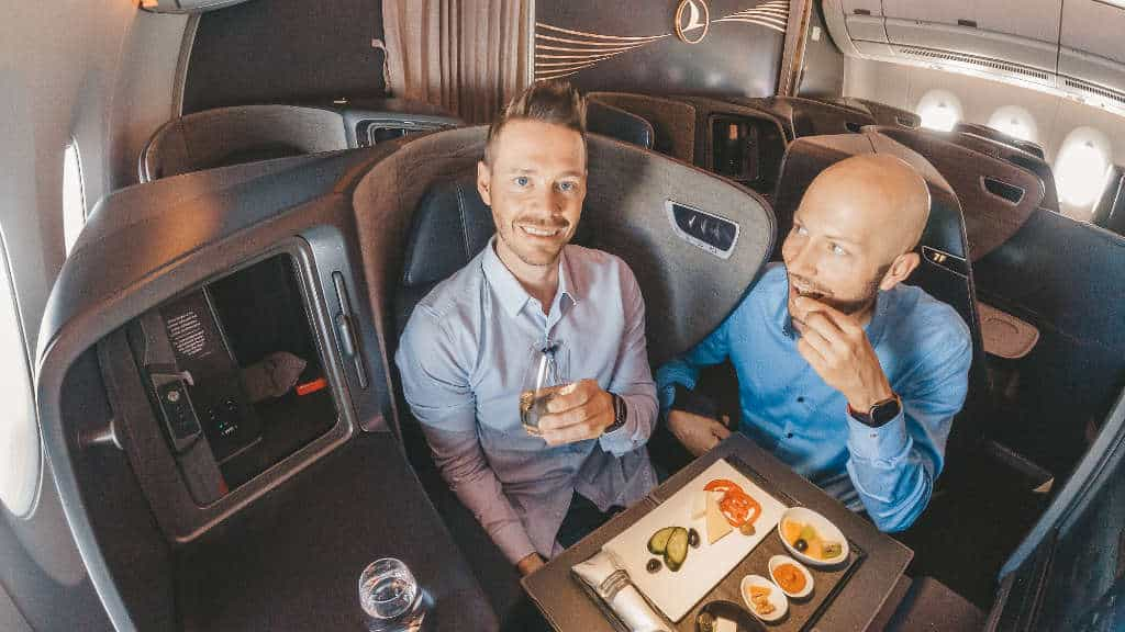 Mit Do&Co Catering in der Turkish Airlines A350 Business Class