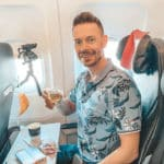 Bei Keks & Champagner – Air France A321 Business Class