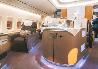 Lufthansa 747-8 First Class