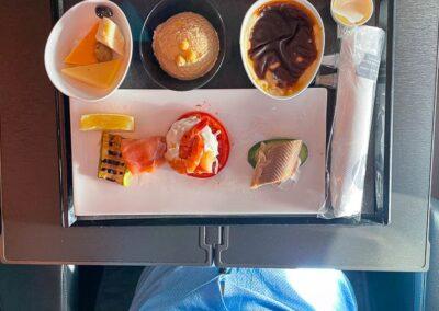 Turkish Airlines A350 Vorspeise