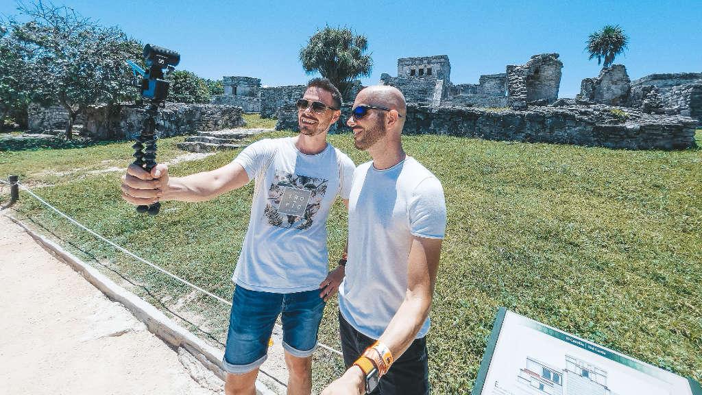 Maya Ruinen in Tulum, unterirdisch baden in der Cenote & mehr