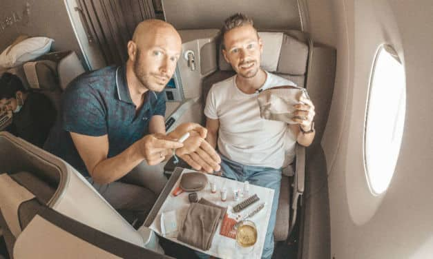 Zu viel eingespart! Iberia A350 Business Class