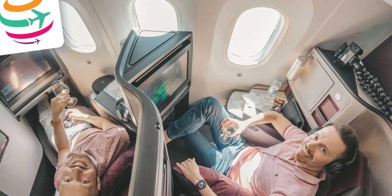 Die neue Qatar 787-9 Business Class