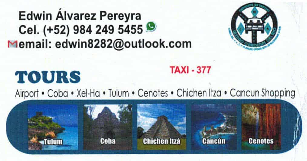 Guide Tour Playa del Carmen