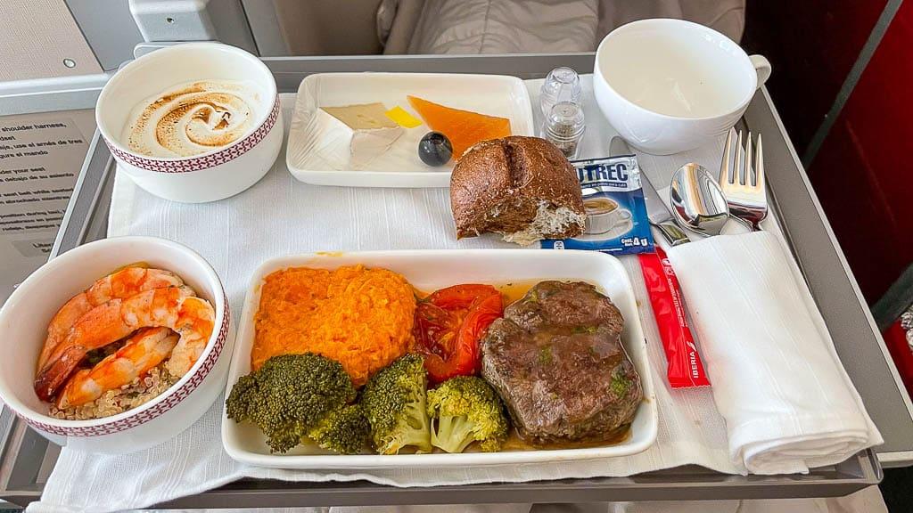 Iberia A350 Business Class