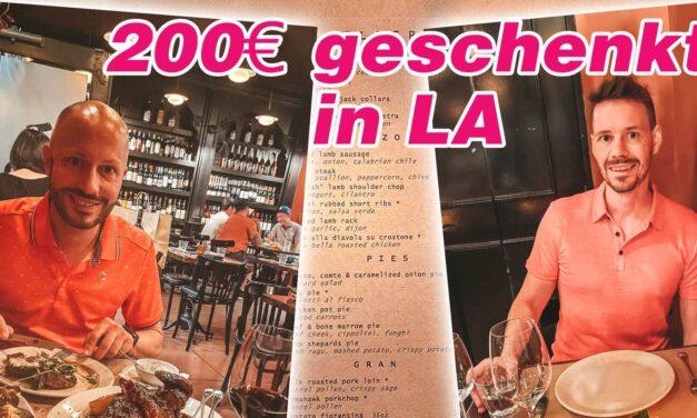 Los Angeles und das 200€ Gourmet-Guthaben für uns