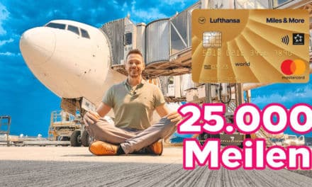 25.000/30.000 Bonusmeilen mit der Miles & More Kreditkarte Gold