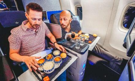 KLM 777 Business Class auf Langstrecke