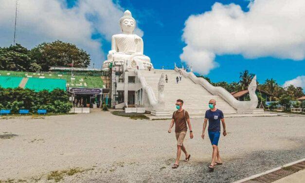 Phuket erleben, fast ohne Touristen während der Sandbox
