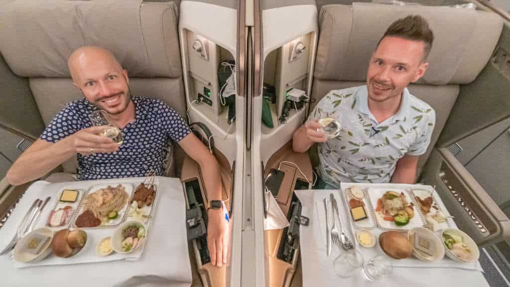 Brandneues Flugzeug! Singapore Airlines A350 Business Class