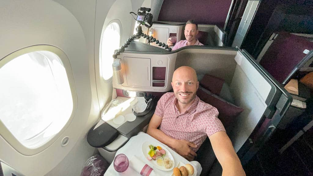 Qatar 787-9 Business Class