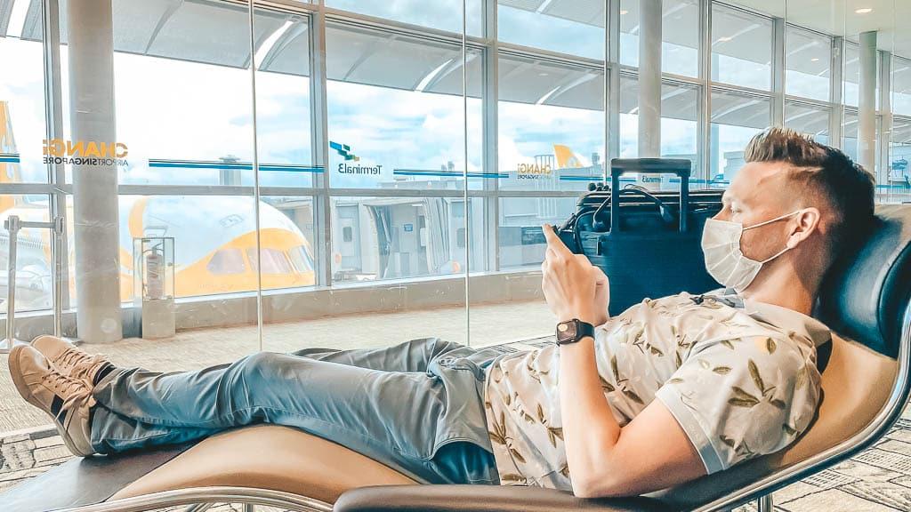 Singapore Airlines Lounge Corona