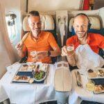 Brandneu: Air France Lounge und URALT Business Sitze