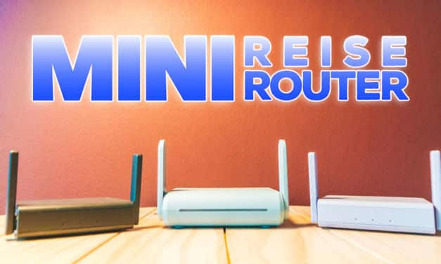 Mini Reiserouter mit VPN & Tor GL.iNet Slate, Beryl & Brume-W